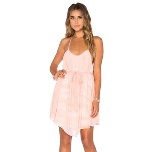 Young Fabulous & Broke Peach Madrina Mini Dress